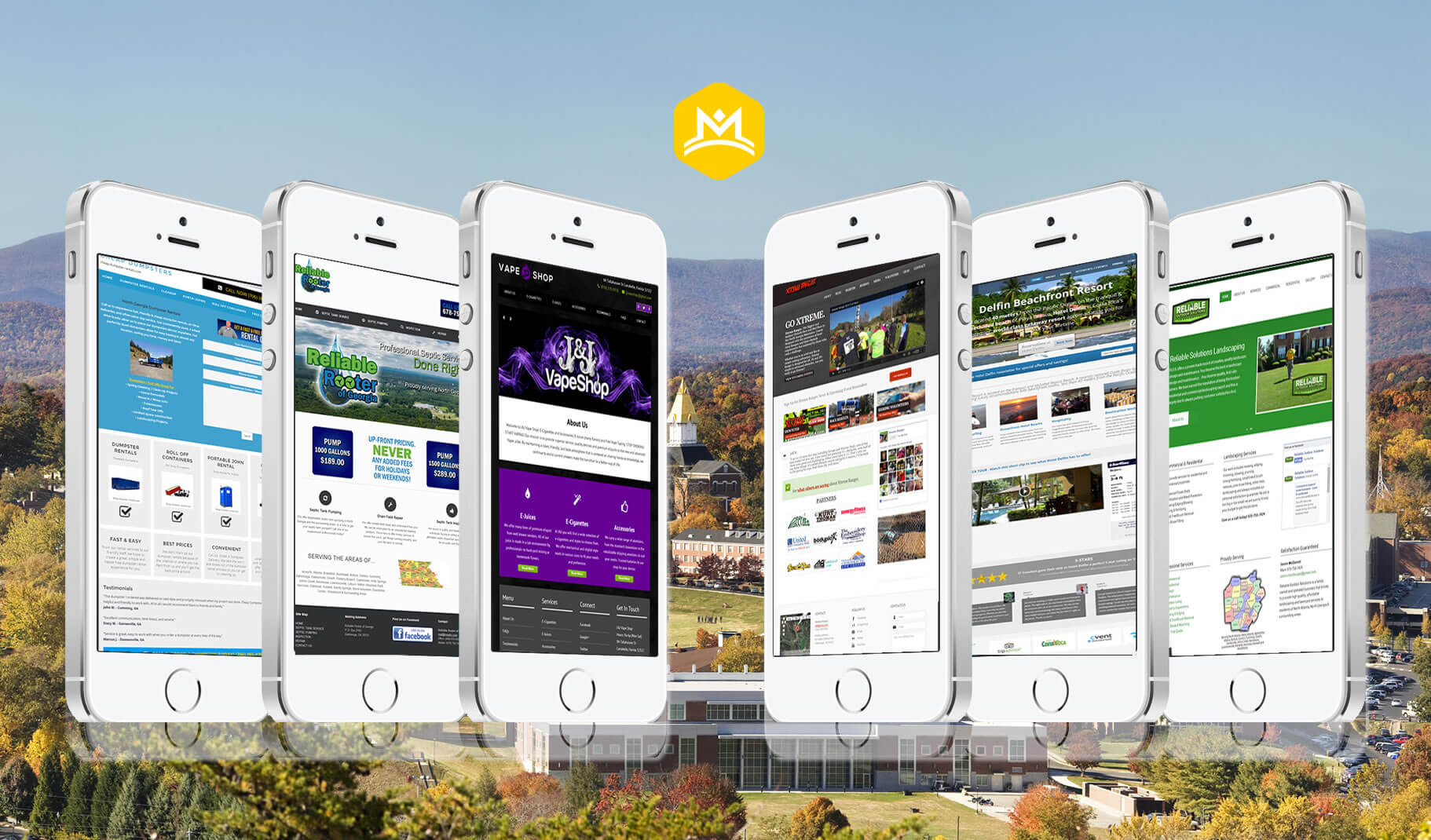 Gold City Media Web Design